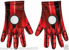 The Avengers Age of Ultron Iron Man Child Gloves Marvel Comics New Rubies 35694