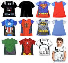 Magliette e maglie multicolore con girocollo per bambini dai 2 ai 16 anni