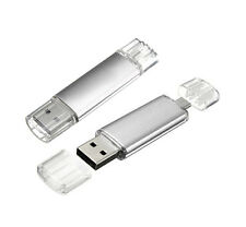 Silver OTG Pendrive 64GB USB 2.0 Pen Drive for Android Mobile ,PC,Tablet