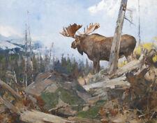 Rungius Carl Alaskan Wilderness Canvas 16 x 20  #2768