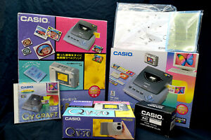 New Casio QV-70 digital camera with TFT monitor plus Printer