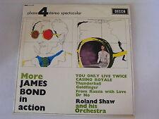 ROLAND SHAW More James Bond In Action Ex Decca 1967 UK LP