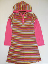 "GYMBOREE ""Fall for Monkeys"" Striped Hoodie Dress, Size 8"