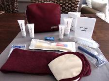 Alitalia Business Class ferragamo Amenity kit Trousse neceser neceser