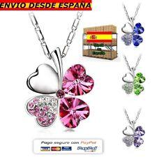 8597405c7eb3 Trebol De Cuatro Hojas Colgante Collar de la Suerte - Lucky Necklace Four  Leaf 4