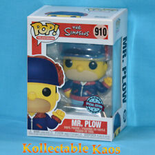 Funko The Simpsons - Mr Plow US Pop Television Vinyl #910