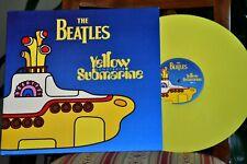 """APPLE THE BEATLES """"Yellow Submarine"""" RARE ORIGINAL 1st 1999 UK YELLOW VINYL Lted"""