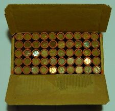 $25 Sealed Lincoln Wheat Roll Box 1909-1958 P D S Cent Penny Pennies 50 Rolls