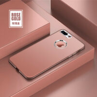 Coque housse bumper  silicone luxueuse supérieure Apple iPhone 6 Plus rose gold