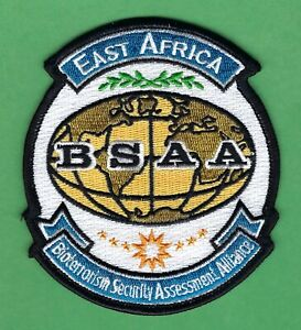 BSAA RESIDENT EVIL EAST AFRICA BIOTERRORISM SECURITY ASSESSMENT ALLIANCE PATCH