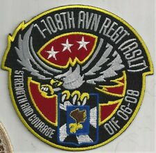 US ARMY 1-108TH AVN REGT (ASLT PATCH -   'OIF 06-08'                       COLOR