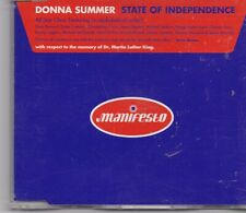Donna Summer-State Of Independence cd maxi single 6 tracks