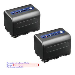 Kastar Battery QM71D for Sony NP-QM71 NP-QM71D NP-QM91D HDR-HC1 HDR-SR1 HDR-UX1
