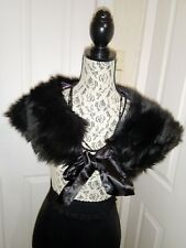 Marks and spencer Faux Fur Shrug Collor used once