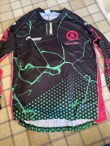Hamsterley Beast Mountain Biking Top Shirt Size Large Jersey