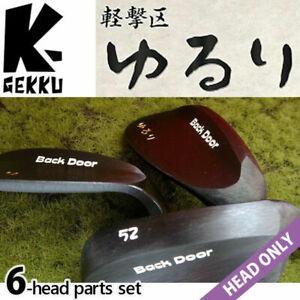HEAD ONLY 2021 Keigekiku YURURI Golf Japan Back Door Wedge set 48,50,52,56,58,60