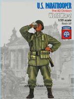 1/35 Paratrooper Drinking Soldier Resin Kits Figure Unpainted Model GK