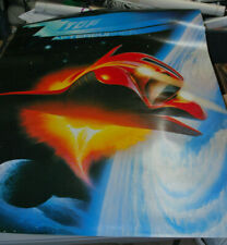 "Zz Top ""Afterburner"" 1986 Jumbo Promotional poster"