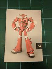 3A 3AA Ashley Wood Robot Catalog Art Print Volume 02