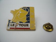 Pin's Pins Pin Badge TOUR DE FRANCE CYCLISME PARIS SAN SEBASTIAN TDF BIKE 1992 !