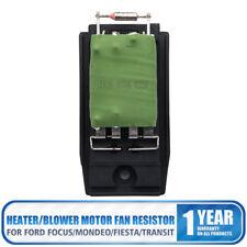 SmartSense Blower/Heater Motor Fan Resistor Ford Focus/Mondeo/Fiesta/Transit AU