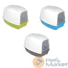 Toilette lettiera chiusa per gatti kroxi utile ed economica 52x39x39h cm