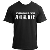 Big Bang Theory Sheldon Cooper Schrodinger's Cat Alive/Dead T-Shirt