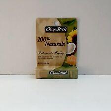 Chapstick 100% Naturals Botanical Medley Lip Balm Sealed NEW *Discontinued*
