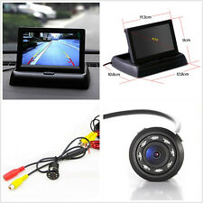 "12V Infrared 170° Angle-wide Car Off-Road Reverse Camera + 4.3"" Foldable Display"
