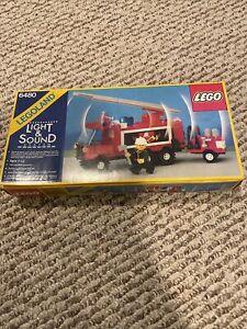 Vintage LEGO 6480 Light & Sound Hook and Ladder.