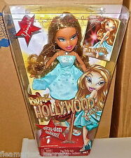 NEW Bratz Hollywood Style 10 Inch Doll YASMIN with Handbag and Star-Shaped BRUSH