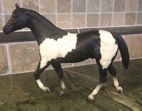 Vintage Breyer Tobiano Pinto Stock Horse Stallion #229, Black Pinto 1981-1988