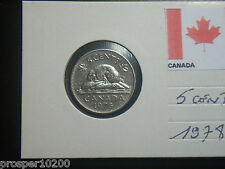 5 cents canada 1978