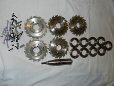 """Royce 5"""" inch 16 Tooth Sharp Saw Blades Lot Qty 5 with fittings for 4 Germany"""
