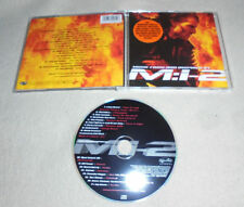 CD Soundtrack Mission Impossible 2 17.Tracks Metallica Limp Bizkit Foo Fighters