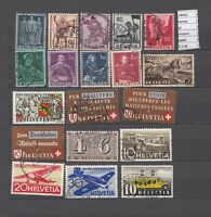 STAMPS LOT  SWITZERLAND USED (L24492)