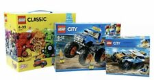 LEGO City Creator SUPERPACK 3 In 1 Includes Sets 10175 60180 60218  AGE 6-12 yrs