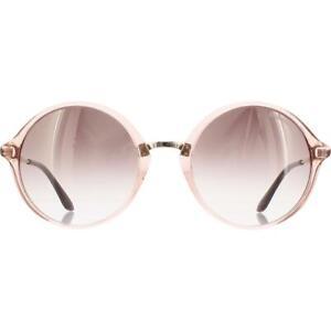 Carrera Womens Pink Non-Polarized UV Protection Round Sunglasses 52mm BHFO 5716