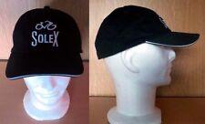 Casquette Noire Broderie Solex Blanc - VeloSolex (Neuf)