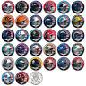 NFL HELMET LOGOS JFK Half Dollar US Football Coins OFFICIALLY LICENSED 32 TEAMS