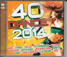 2 CD COMPIL 40 TITRES--DANCE 2014--AVICII/STROMAE/PERRY/GARRIX/SHOWTEK/DEORRO...
