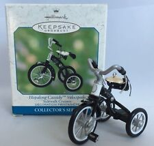 Hallmark Sidewalk Cruisers Hopalong Cassidy Ornament Velocipede Bike Collectors