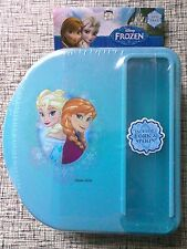 Disney Frozen Lunch Box Set with Case Spoon & Fork NWT BPA Free food container