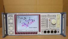 Rohde & Schwarz UPL16 B4/B6/B8/B10 Analizzatore audio DC a 110 kHz montaggio a rack R&S