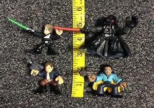 Galactic Heroes Star Wars Mixed Lot Luke Darth Vader Lando Han Solo