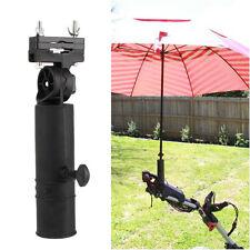 Golf Umbrella Holder Stand For Buggy Cart Baby Pram Wheelchair Bike Black