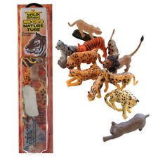 Nature Tube of Toys Wild Republic Big Cats Animal Figures with Playmat for Kids