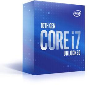 Intel Core i7-10700K, 8C/16T, 3.80-5.10GHz, boxed ohne Kühler (BX8070110700K)