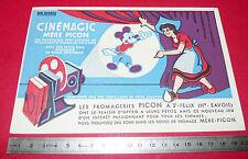 BUVARD FROMAGERIE MERE PICON ST FELIX HTE SAVOIE CINEMAGIC MICKEY 1950-1960