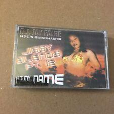 DJ Jay Faire Jiggy Blends #12 CLASSIC 90s NYC Hip Hop Cassette Mixtape Tape